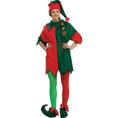 Elf Costume Tunic Halloween Costume for Adults