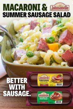 Best Salad Recipes, Pasta Recipes, Appetizer Recipes, Dinner Recipes, Cooking Recipes, Beef Recipes, Appetizers, Summer Pasta Salad, Summer Salads