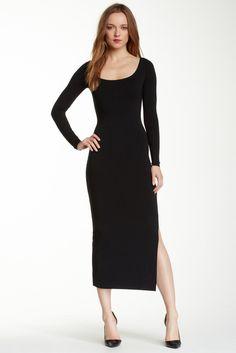Elongated Bateau Dress