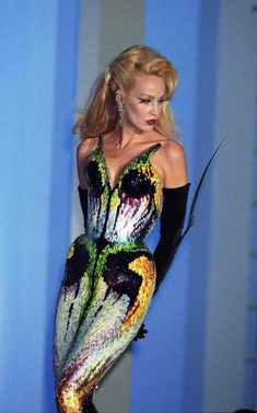 Jerry Hall Thierry Mugler Show