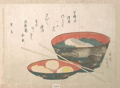 Teisai Hokuba (Japanese, 1771–1844). Bowl of New Year Food, probably 1808. The Metropolitan Museum of Art, New York. H. O. Havemeyer Collection, Bequest of Mrs. H. O. Havemeyer, 1929 (JP2026)