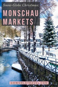 The Monschau Christmas Market: Go World Travel