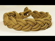 How You Can Tie A Turk's Head Style Sailor's Knot Bracelet - YouTube