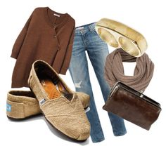 """""""Burlap TOMS"""" by kaitlynandre on Polyvore"""