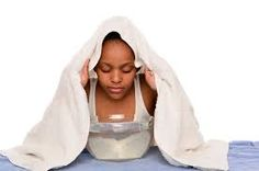 Steaming  It helps open up the pores and removes the dirt, oils and bacteria that is in the pores.