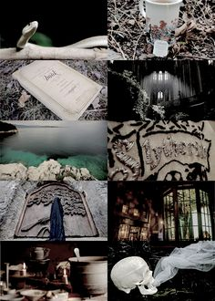 """hp aesthetics ↳ Slytherin """