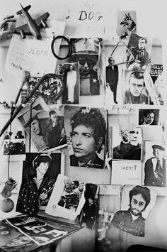 Patti Smith's wall by Judy Linn.