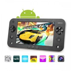 JXD S7100 7-inch Capacitive Touch Screen Android 2.3 8GB Tablet Game Console with Camera - Aulola Online Store
