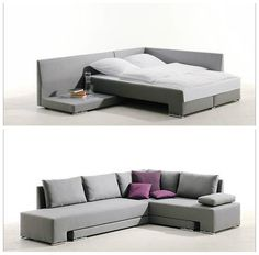 The versatile, compact corner suite Vento transforms into a snug comfort zone, two single beds or a fully fledged double bed. Designer Franz Fertig. Website: http://www.the-collection.us: Living in a shoebox | 10 great space-saving beds