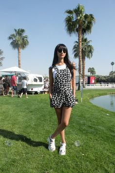 Street Style From Coachellavianeverunderdressed