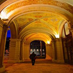 Vienna is grand!!! Beyond the great buildings and architecture are walkways with beautiful artwork.  Everywhere you turn - there are interesting details of Baroque and Neoclassical architecture from hundreds of years of creating this city with art -------