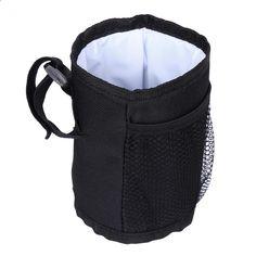 1kpl Musta vauvan pullo laukku kotelo juoma Vesi maito Vauvan pullon tallennus Universal pidike Vauvan rattaiden eristys Cup laukku Sort, Backpacks, Baby, Babys, Infant, Doll, Backpack, Backpacking