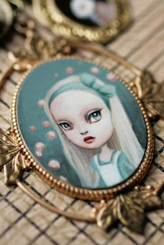 Alice - original cameo by Mab Graves