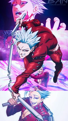 Curte The Seven Deadly Sins? Descubra todos os personagens no Global Geek! Seven Deadly Sins Anime, 7 Deadly Sins, Ban Anime, Anime Tumblr, Seven Deady Sins, Couples Cosplay, 7 Sins, Animes Wallpapers, Anime Demon