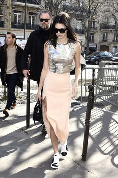 Kendall Jenner out and about in Paris on March 5, 2015.   - Cosmopolitan.com