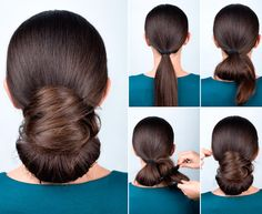 2018 New Year's Hairstyles: Photos and Tutorials with the best looks,  #hairstyles #looks #photos #tutorials Twist Bun, Crazy Hairstyles, Top Hairstyles, Easy Hairstyles For Long Hair, Tolle, Elegant, Long Thin Hair, Hairdos, Stylish Hair