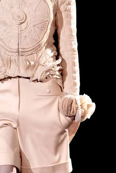 Givenchy spring 2010 couture details
