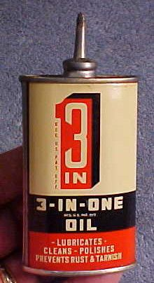 Vintage N Mint Unopened 3 in 1 Lead Spout Traps Gun Fishing Household Oil Can | eBay