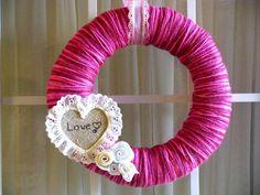 Loving Every Second: Valentine's {Love} Wreath