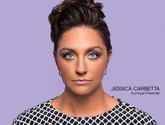 Younique Presenter, Jessica Carbetta modeling Moodstruck Addiction Shadow Palettes.
