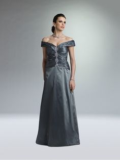 A-line Off the Shoulder Floor Length Mother of the Bride Dresses Under 200 99801007