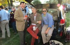 Hampden Sydney Alumni - College Tailgating - Town & Country Magazine