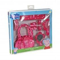 Caja grande de accesorios de pelo de Peppa Pig. 13,95 euros en Tino & Tina