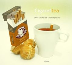 origami tea bags - Cigarrets Discustea