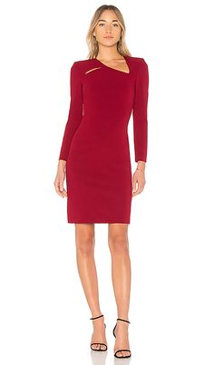 Shop for Alice + Olivia Scottie Cut Out Dress in Bordeaux at REVOLVE. Free 2-3 day shipping and returns, 30 day price match guarantee.
