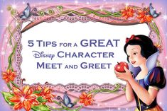 5 Tips for a Great Disney Character Meet and Greet at Walt Disney World