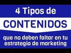 4 Tipos de Contenidos que no deben faltar en tu Estrategia de Marketing - YouTube