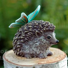 Fairy Homes and Gardens - Enchanted Guardian Thorn Baby Hedgehog, $17.00 (https://www.fairyhomesandgardens.com/enchanted-guardian-thorn-baby-hedgehog/)