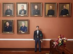 Cadet in the Koninklijke Militaire Academie, Breda, The Netherlands, the most important military academies of Europe by Paolo Verzone—Worldpress photo award