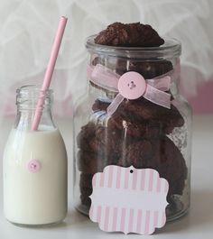 Liker du chocolate chip cookies, og er glad i sjokolade, så kommer du til å elske disse...Her er oppskrift på Chocolate chocolate chip cookies.
