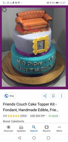 Friends Cake, Desserts, Food, Tailgate Desserts, Deserts, Essen, Postres, Meals, Dessert