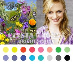 Bright Spring (Clear Spring) color palette #coloranalysis