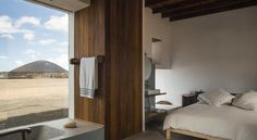 B&B Buenavista Country House in Lanzarote by Pérez Batista Architect Bed And Breakfast, Home Exchange, Modular Homes, Canary Islands, Cozy House, Sweet Home, Interior Design, Country, Architecture