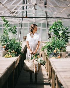 Garden Greenhouse | Photography: Josh McCullock | Florals: Anthousai Floral Design, Every Something Event Styling, Hydrangea Floral Design Studio, Juniper Designs, New Leaf Florist, Poppy Lane Design, The Wild Mother | Beauty: Profile Concierge Hair Services and Faccia Bella #bridesofok #weddings #editorial