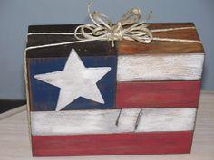 Flag Block decoration-teaching class @ P & R