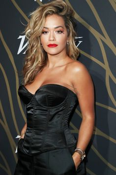 Rita Ora Eats This Same Meal for Breakfast 'Every Morning Without Fail' Feather Dress, Le Jolie, Bodysuit, Oras, Famous Women, Swagg, Hot Girls, Celebrity Style, Beautiful Women
