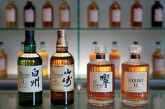Japanese Whisky: The finest single malt in the world is no longer from Scotland. (Suntory Yamazaki, Suntory Hiibiki)