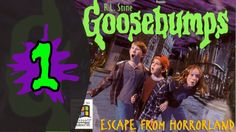 Let's Play Goosebumps Escape From Horrorland - Part 1: You're In For A Scare!