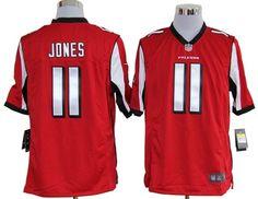 Men's Atlanta Falcons #11 Julio Jones Nike White Elite Jersey ...