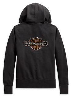 Genuine Harley Davidson Men/'s Kick Ass Iron Pullover Slim Fit Hoodie