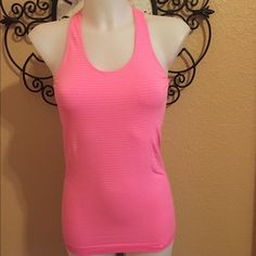 Under Armour tank top Great  stripe tank top in new condition by Under Armour Under Armour Tops Tank Tops