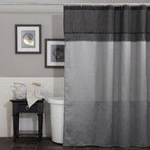 Found it at Wayfair - Geometrica Polyester Shower Curtain