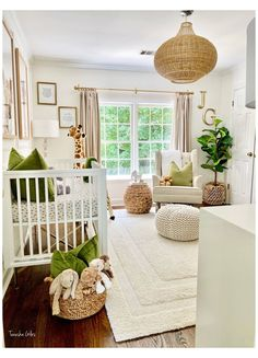 Baby Nursery Neutral, Baby Nursery Decor, Baby Bedroom, Baby Boy Rooms, Baby Boy Nurseries, Baby Decor, Safari Nursery, Nursery Ideas, Gender Neutral Baby