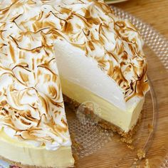 NoBake Lemon Meringue Cheesecake! Recipe on my blog! janespatisserie