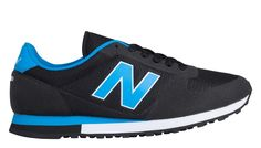 70s Running 430, Black with Bright Blue
