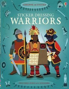 A captivating sticker book with over 200 stickers to complete the scenes. Travel back in time and find out what the fiercest and bravest warriors  wore long ago, from Japanese Samurai and Mongol warlords to Native American chiefs. Use the stickers to dress them all for battle. #learnjapaneseforkidsfun